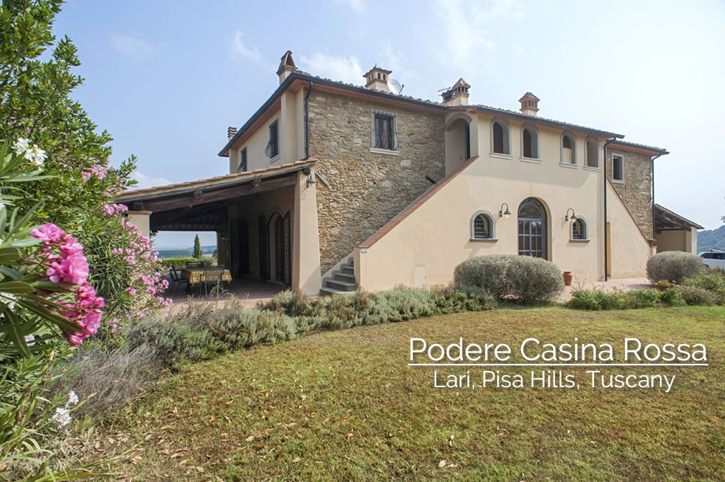 Podere accomodations in Tuscany